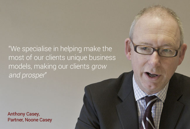 Anthony Casey talks about growth in business