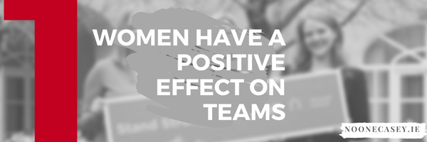 Women have a Positive Effect on Teams