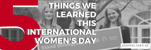 Five Things we Learned this International Women's Day
